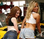 Ashley Jensen and Nikki Rhodes - Lesbian Pit Stop 5