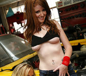 Ashley Jensen and Nikki Rhodes - Lesbian Pit Stop 11