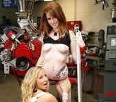 Ashley Jensen and Nikki Rhodes - Lesbian Pit Stop 18