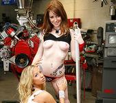 Ashley Jensen and Nikki Rhodes - Lesbian Pit Stop 19