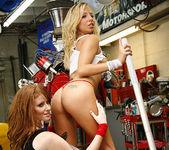 Ashley Jensen and Nikki Rhodes - Lesbian Pit Stop 23
