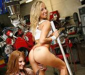 Ashley Jensen and Nikki Rhodes - Lesbian Pit Stop 26
