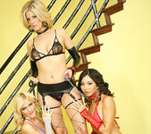 Fayth DeLuca, Mckenzie Miles, Keeani Lei - Lesbian Threesome 9