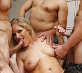Dia Zerva Begs for a Blowjob Gang Bang 21
