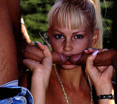Nikki Anderson Horny for an Outdoor 2 on 1 8