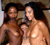 Dee and India - Latina/Ebony Anal Threesome 13