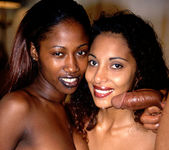 Dee and India - Latina/Ebony Anal Threesome 29