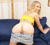 Natalie Norton - Slim Blonde Gives a Blowjob Gangbang 20