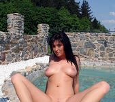 Bijou Lures a Dick with a Strip On the Beach 27