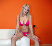 Tammy - Busty Blonde Unloads His Gun 2