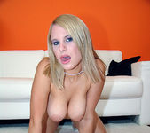 Tammy - Busty Blonde Unloads His Gun 8