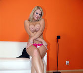 Tammy - Busty Blonde Unloads His Gun 10