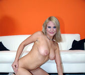Tammy - Busty Blonde Unloads His Gun 13