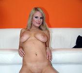 Tammy - Busty Blonde Unloads His Gun 16