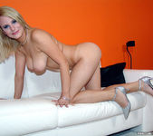 Tammy - Busty Blonde Unloads His Gun 17
