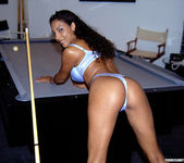 Dee is Ready to Get Bent! ... Over the Pool Table 2