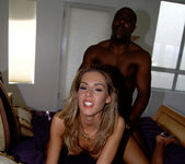 April Wet and Ready for Interracial with a Big Dick 28