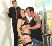 Cheyenne Jewel - Redhead Gets the Double-Time of Her Life 7