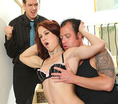 Cheyenne Jewel - Redhead Gets the Double-Time of Her Life 11