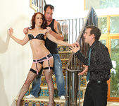 Cheyenne Jewel - Redhead Gets the Double-Time of Her Life 14