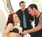 Cheyenne Jewel - Redhead Gets the Double-Time of Her Life 21