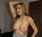 Alice Romain Strips and Gives a POV Blowjob 21