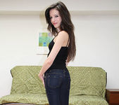 Ann Marie La Sante - Petite Brunette Gives a Blowjob 8