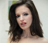 Ann Marie La Sante - Petite Brunette Gives a Blowjob 12