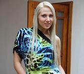 Viktoria Diamond Strips and Gives a POV Blowjob 2