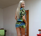 Viktoria Diamond Strips and Gives a POV Blowjob 7