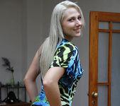 Viktoria Diamond Strips and Gives a POV Blowjob 10