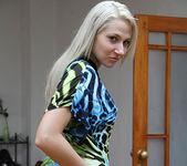 Viktoria Diamond Strips and Gives a POV Blowjob 11