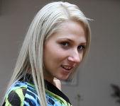 Viktoria Diamond Strips and Gives a POV Blowjob 16