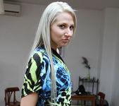Viktoria Diamond Strips and Gives a POV Blowjob 17