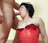Eva the Hairy MILF Getting Boned 14