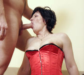 Eva the Hairy MILF Getting Boned 15
