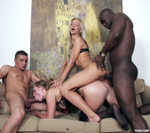 Cameron Angel and Ulrika in a Gang Bang 25