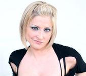 Lya Pink - Sexy Blonde MILF Gets Interracial 6