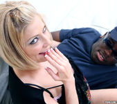 Lya Pink - Sexy Blonde MILF Gets Interracial 17