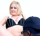 Lya Pink - Sexy Blonde MILF Gets Interracial 20