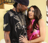 Raven Black Jammed Full of Interracial Meat 29