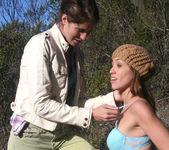 Audrey Rose and Kara Price Go for a Walk 16
