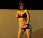 Karlie Montana's Outdoor Threesome with Samantha Ryan 6
