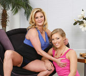 Ally Kay and Ginger Lynn Lay Down to Grind 21