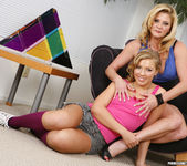 Ally Kay and Ginger Lynn Lay Down to Grind 22