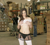 Bobbi Starr Disrupts Work with a Gang Bang 22