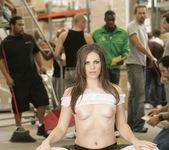 Bobbi Starr Disrupts Work with a Gang Bang 24