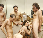 Bobbi Starr Disrupts Work with a Gang Bang 27