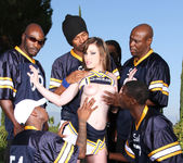 Jennifer White Stretched and Creamed by Six 2