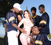 Jennifer White Stretched and Creamed by Six 4